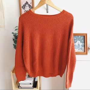 Forever 21 Rust Sweater
